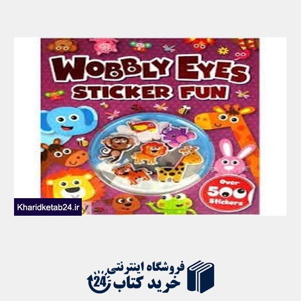 کتاب Wobbly Eye Sticker Fun