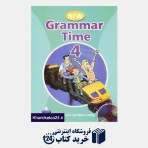 کتاب new grammar time 4 CD