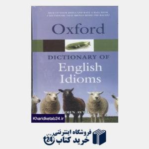 کتاب oxford dic of english idioms org