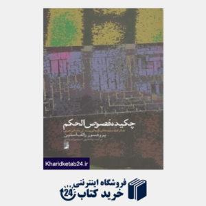 کتاب چکیده فصوص الحکم (تفکرات زمینه های تاریخی و زندگی نامه ابن عربی)