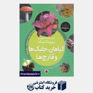 کتاب گیاهان جلبک ها و قارچ ها (دانشنامه تصویری بریتانیکا)