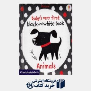 کتاب (Animals (Black and White Book