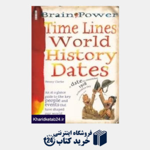 کتاب Brain Power Time Lines World History Dates