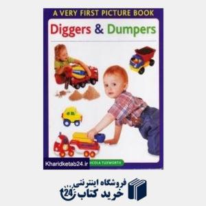کتاب Diggers and Dumpers  a Very First Picture Book