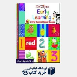 کتاب (Early Learning 8451 (6 First Animal Word Book