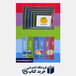 کتاب (Early Learning (Board Book and Stacking Blocks