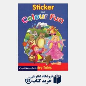 کتاب (Fairy Tales (Sticker and Colour Fun