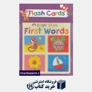 کتاب (First Words Bright Star (Flash Card