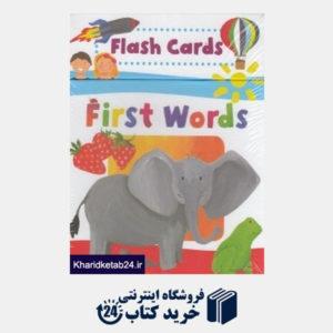کتاب (First Words (Flash Card