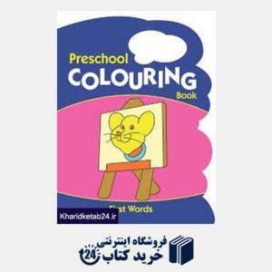 کتاب (First Words (PreSchool Colouring Book