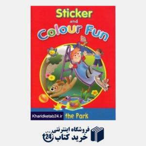کتاب (In the Park (Sticker and Colour Fun
