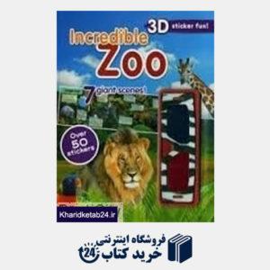 کتاب Incredible Zoo 3D Sticker Fun