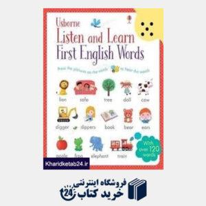 کتاب Listen and Learn First English Words