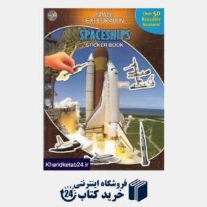 کتاب Spaceships Sticker Book